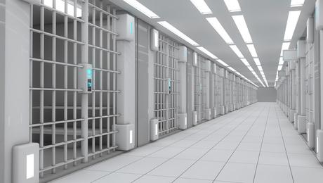 3d interior Jail